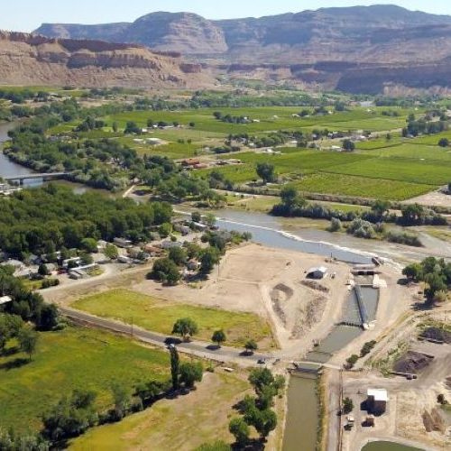 Grand Valley Irrigation Company Diversion Structure