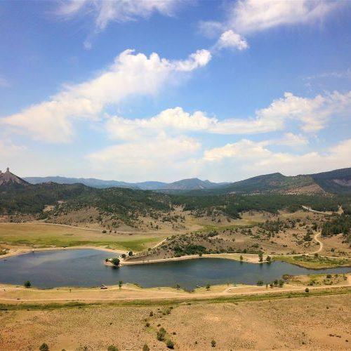 Lake Capote aka Pargin Reservoir