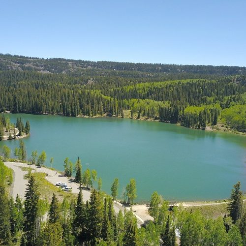 Sunset Lake aka Mesa Creek Reservoir Number 1